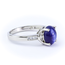 Star Sapphire 925 Sterling Silver Ring