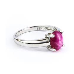 Lovely Star Ruby Ring