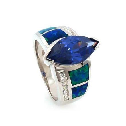 Best Friends Opal Tanzanite Ring