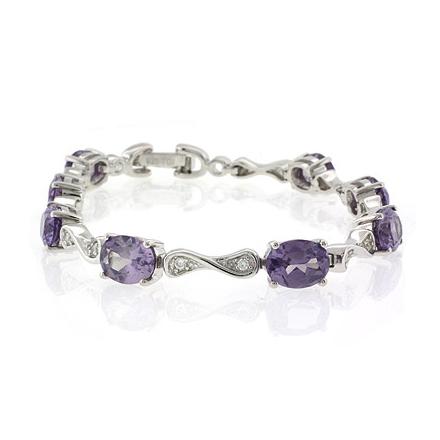 Stones 925 Sterling Silver Bracelet