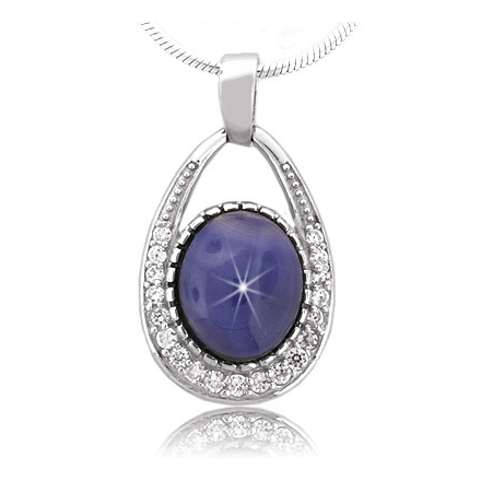blue mshop sterling by silver topaz index pendant star lone dsc puretexan com pendants type cut