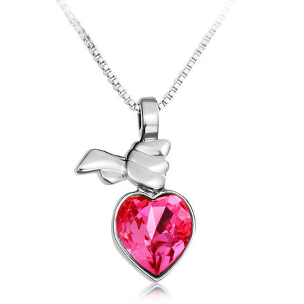 Beautiful necklace Swarovski Heart
