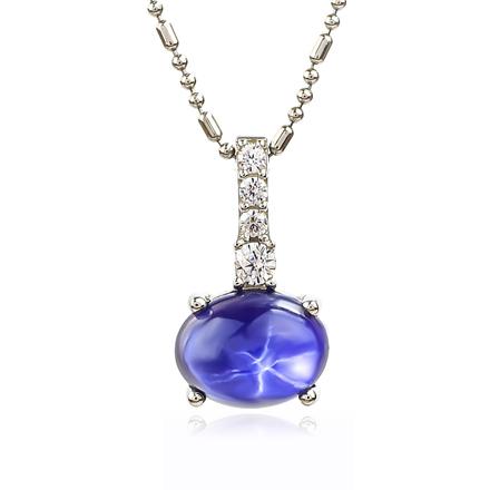 Star Sapphire Journey Pendant
