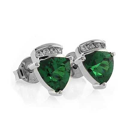 trillion jewelers gen earrings jurgens peridot