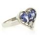 Tanzanite Ring Heart Shape