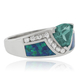 Color Changing Alexandrite Opal Silver Ring
