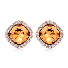 Beautiful Earrings with 18K Rose Gold