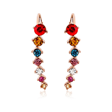 Earrings with Swarovski Crystal