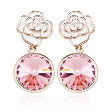 Divine Earrings with 18K Rose Gold